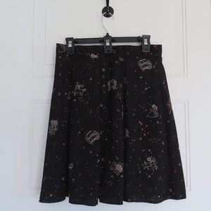 ModCloth Skater Skirt Size Large